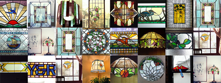 Nobuo Ijuin Stained Glass